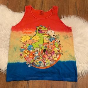 Nickelodeon 90s Shows Character tank top